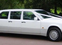 Mercedes Limousine for weddings in London